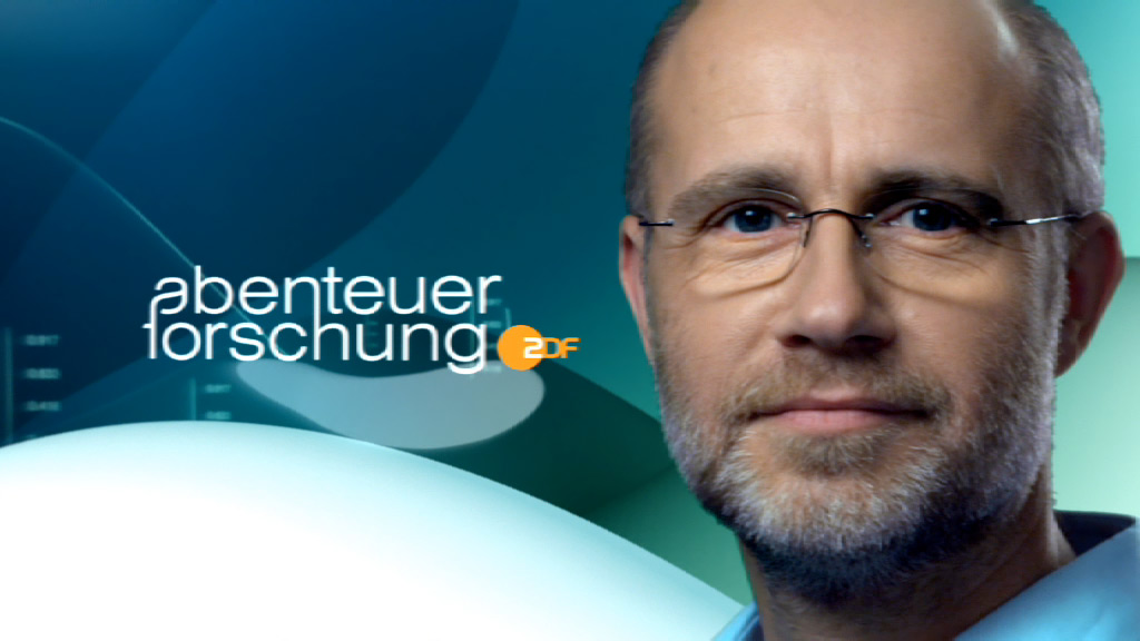 ZDF Abenteuer Forschung opener, anchorman Harald Lesch