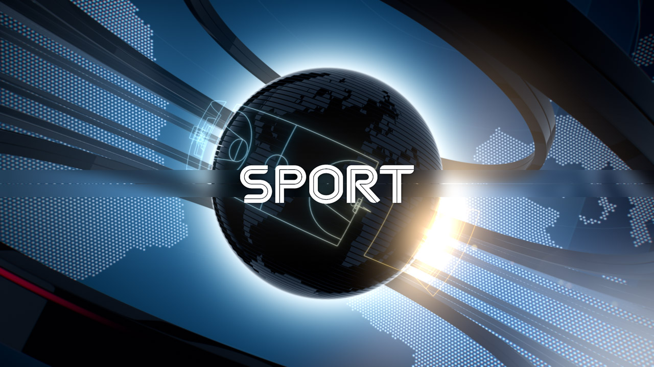 Nova.rs news, sport opener, 3D animation with 2D animated typography
