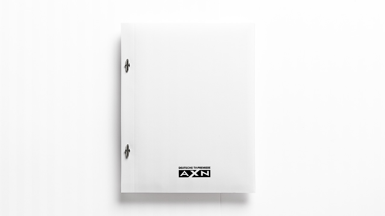 A X N, House of Lies press kit back side