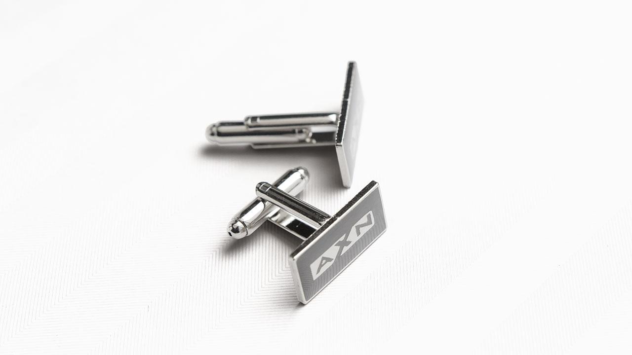 A X N, House of Lies press kit cufflinks