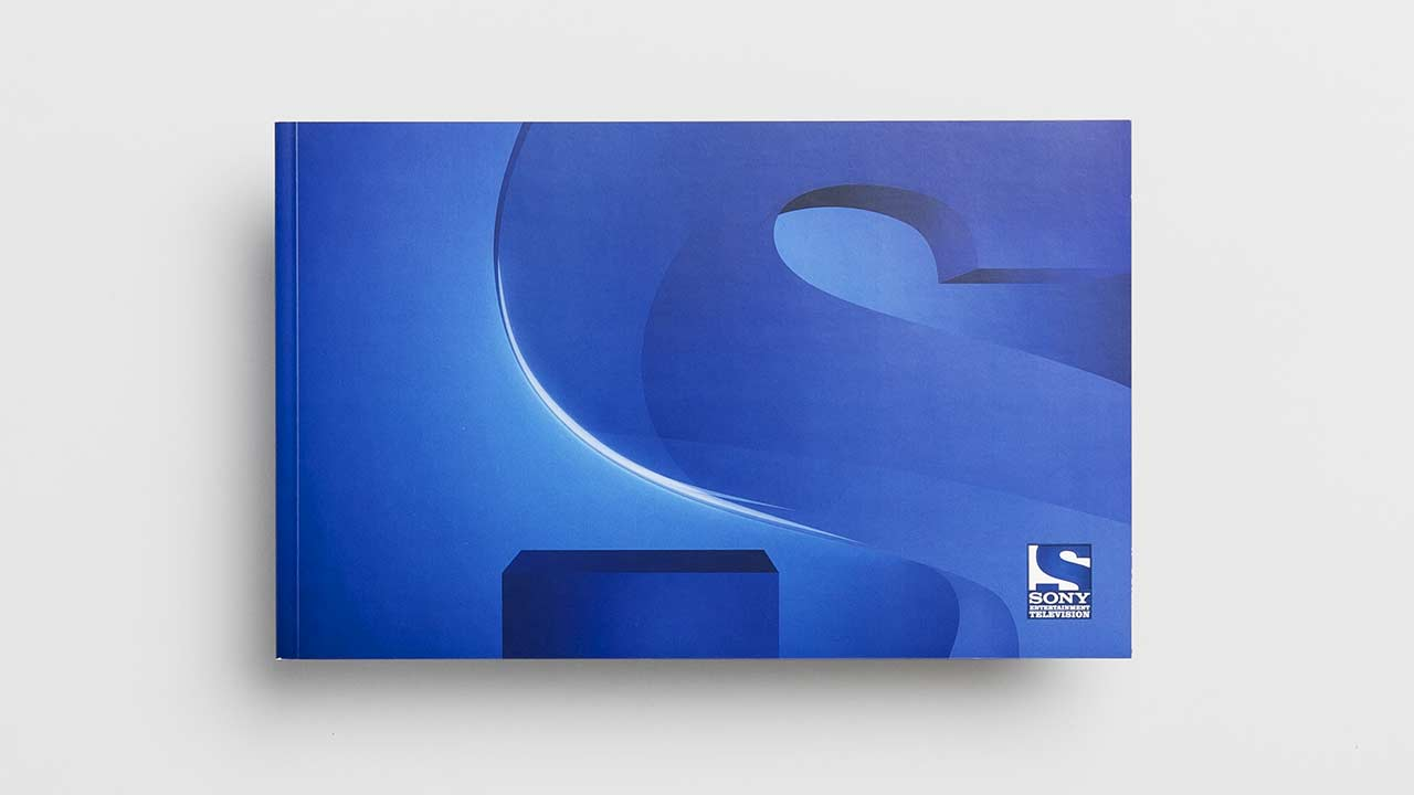 SONY Entertainment Television, brand brochure, front side